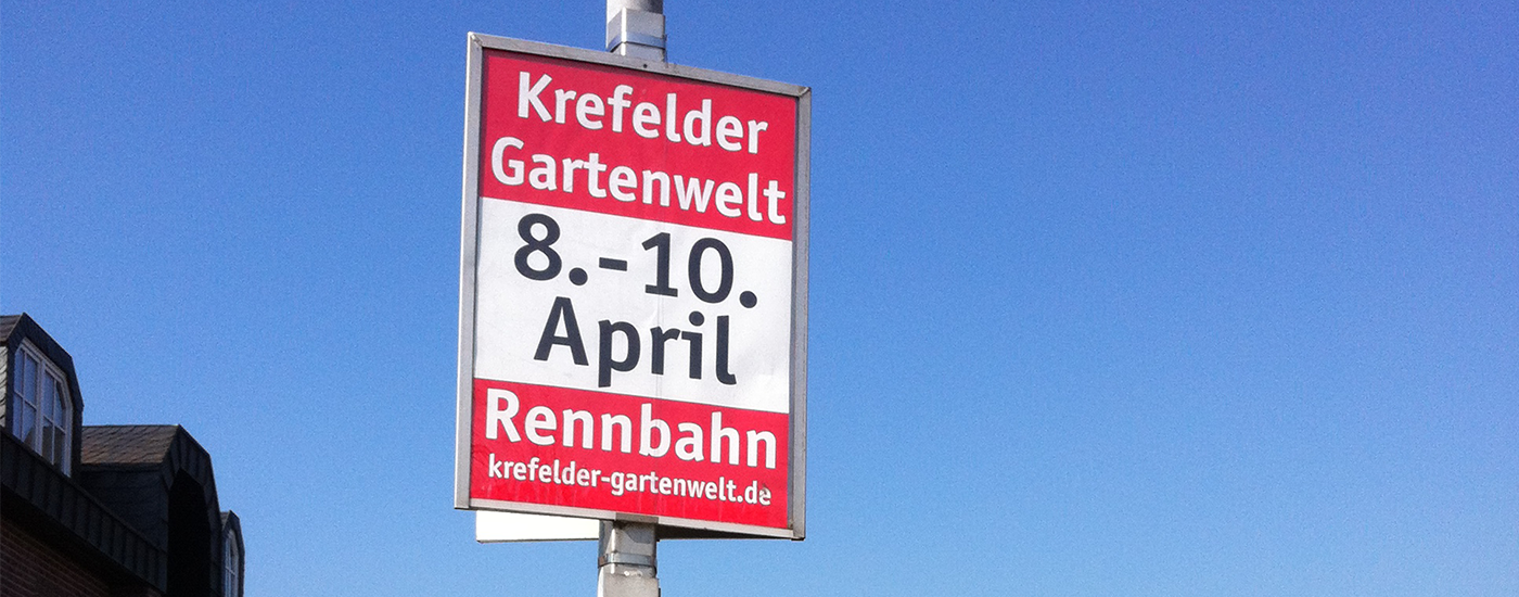 Plakatrahmen | Niederrhein Werbung GbR